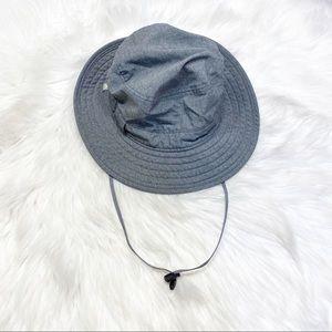 Solar Escape Explorer UV Gray Bucket Hat